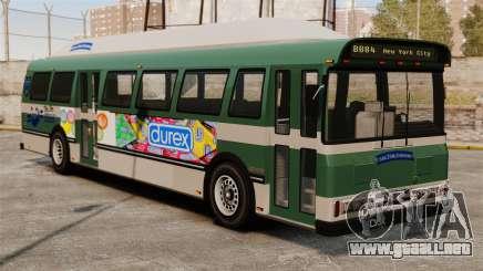 El anuncio nuevo en el autobús para GTA 4