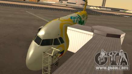 Airbus A320-211 Cebu Pacific Airlines para GTA San Andreas