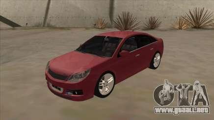 Opel Vectra C Irmscher para GTA San Andreas