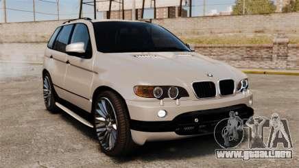 BMW X5 4.8iS v2 para GTA 4