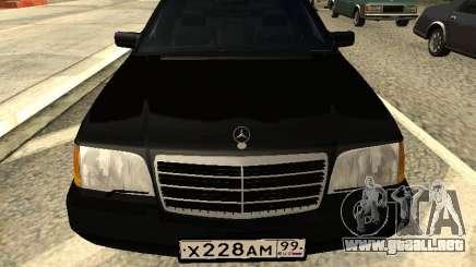 Mercedes-Benz w140 s600 para GTA San Andreas