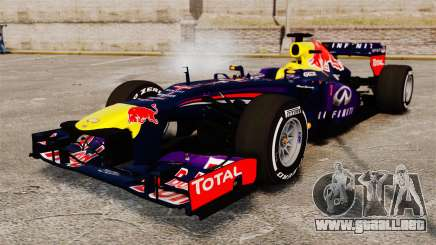 Coche, Red Bull RB9 v4 para GTA 4