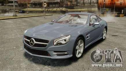 Mercedes-Benz SL500 2013 para GTA 4