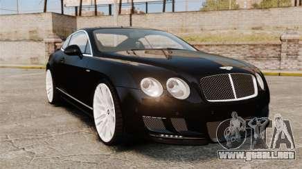Bentley Continental GT Imperator Hamann EPM para GTA 4