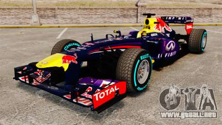 Coche, Red Bull RB9 v1 para GTA 4