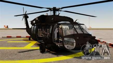 Sikorsky MH-60L Black Hawk para GTA 4