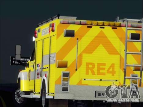 GMC C4500 Topkick BCFD Rescue 4 para las ruedas de GTA San Andreas