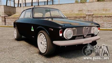 Alfa Romeo Giulia 1965 Sprint GTA Stradale para GTA 4