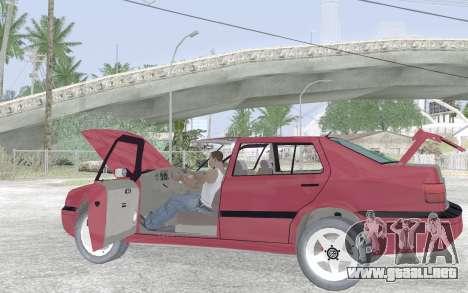 Volkswagen Vento para vista inferior GTA San Andreas
