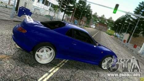 Mitsubishi FTO para GTA Vice City vista posterior