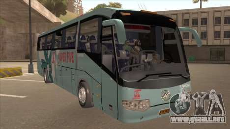 Higer KLQ6129QE - Super Fice Transport S 020 para GTA San Andreas left