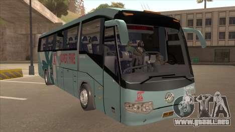 Higer KLQ6129QE - Super Fice Transport S 020 para GTA San Andreas left