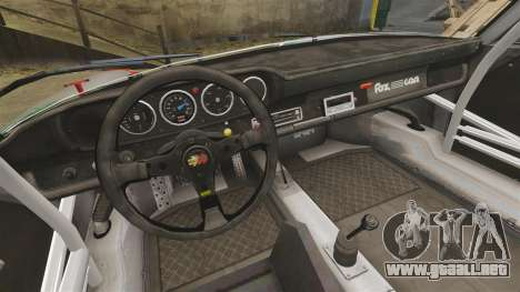 Porsche 911 RSR 3.3 para GTA 4 vista interior