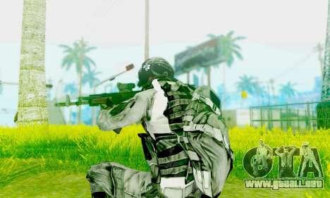 AK-12 del campo de batalla 4 para GTA San Andreas segunda pantalla