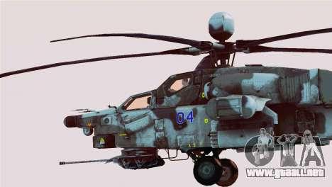Mi-28N Havoc para GTA San Andreas left