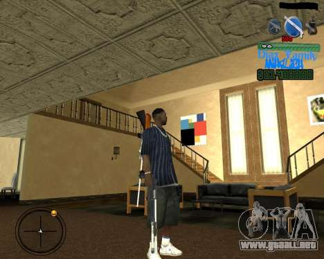 C-Hud for SA:MP para GTA San Andreas segunda pantalla