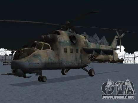 El MI-24p para GTA San Andreas