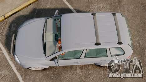 Volkswagen Touareg 2002 para GTA 4 visión correcta