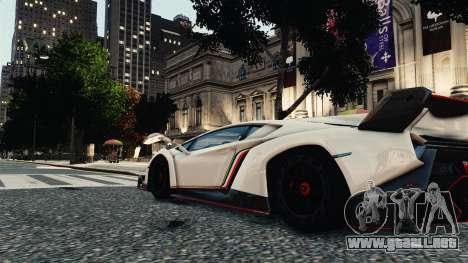 Lamborghini Veneno para GTA 4 visión correcta