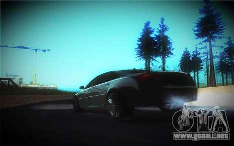 Audi A8L D3 para vista inferior GTA San Andreas