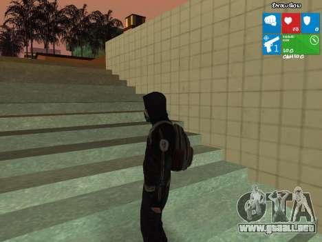 El tesoro de Dead Rising 2 para GTA San Andreas segunda pantalla
