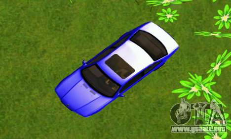 BMW E36 Low and Slow para GTA San Andreas vista hacia atrás