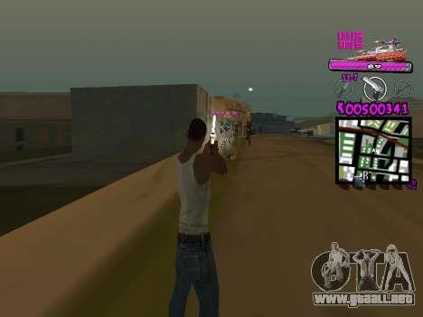 C-HUD by Kerro Diaz [ Ballas ] para GTA San Andreas