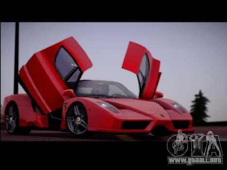 Ferrari Enzo para GTA San Andreas left