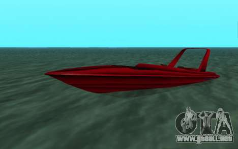 Vice City Squallo II para GTA San Andreas left