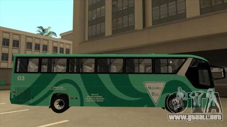 Holiday Bus 03 para GTA San Andreas vista posterior izquierda