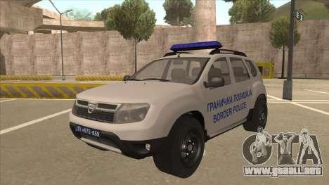 Dacia Duster Szkoła Granična fue para GTA San Andreas