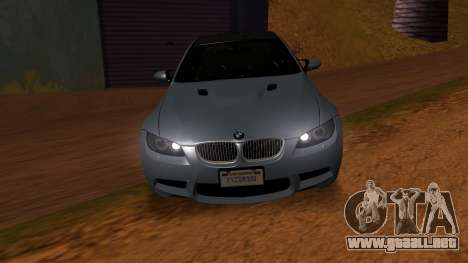 BMW M3 E92 para la visión correcta GTA San Andreas