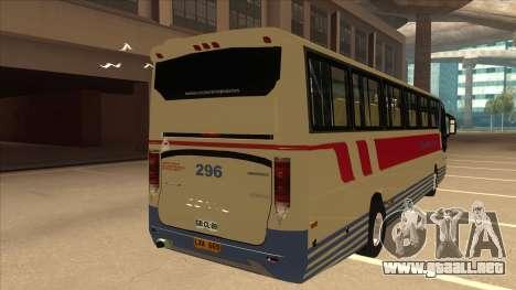 Davao Metro Shuttle 296 para la visión correcta GTA San Andreas