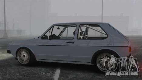 Volkswagen Golf MK1 GTI Update v1 para GTA 4 left