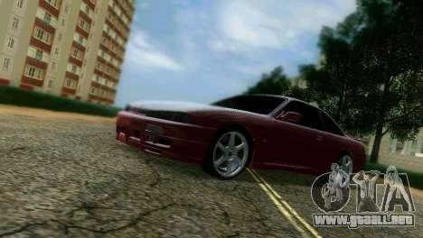 Nissan Silvia S14 Light Tuning para GTA Vice City visión correcta