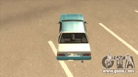 Nissan EXA L.A. Version para GTA San Andreas interior