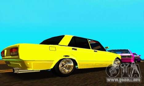 VAZ 2107 VIP para la visión correcta GTA San Andreas
