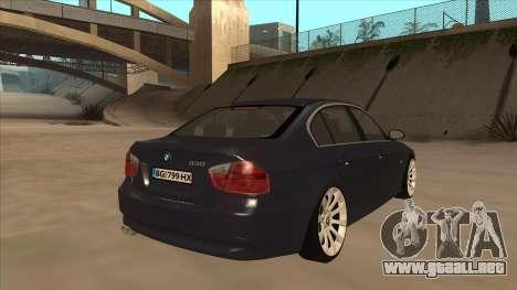 BMW 330 e90 para la visión correcta GTA San Andreas