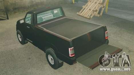 Camioneta UAZ Patriot para GTA 4 vista lateral