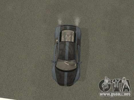 Audi R8 para visión interna GTA San Andreas