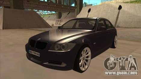 BMW 330 e90 para GTA San Andreas