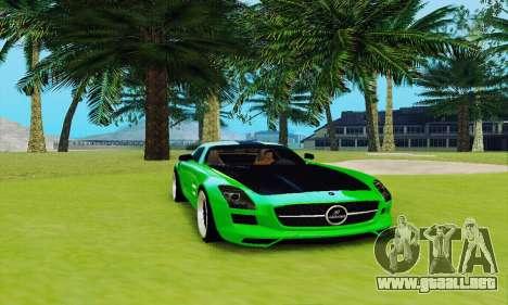 Mercedes SLS AMG 2010 Hamann v2.0 para GTA San Andreas