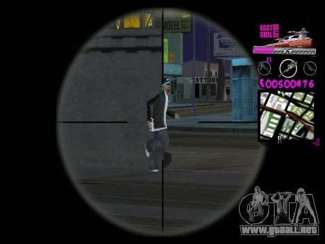 C-HUD by Kerro Diaz [ Ballas ] para GTA San Andreas sucesivamente de pantalla