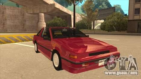 Nissan EXA L.A. Version para GTA San Andreas left
