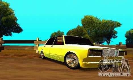 VAZ 2107 VIP para visión interna GTA San Andreas