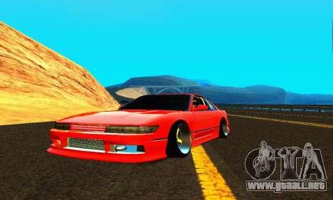 Nissan Silvia S13 HellaDrift para GTA San Andreas