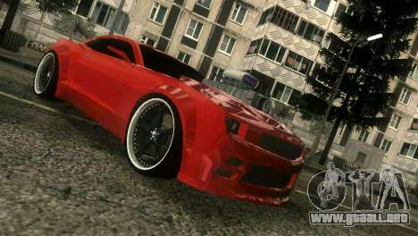 Chevrolet Camaro JR Tuning para GTA Vice City left