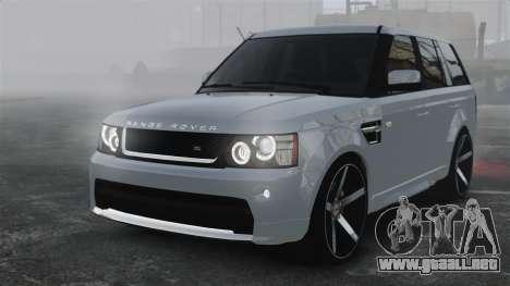 Range Rover Sport Autobiography 2013 Vossen para GTA 4