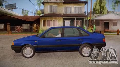 Volkswagen Passat B3 IVLM para GTA San Andreas left