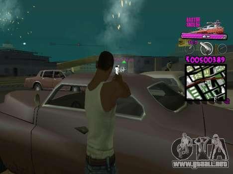 C-HUD by Kerro Diaz [ Ballas ] para GTA San Andreas tercera pantalla